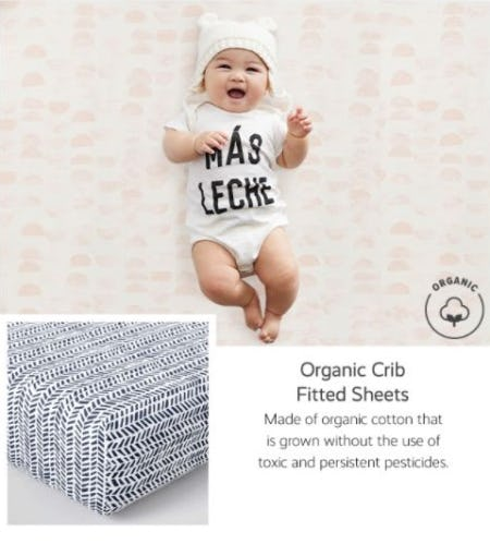 Sweet and Soft Baby Bedding from Pottery Barn Kids