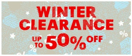 Winter Clearance up to 50% Off from REI