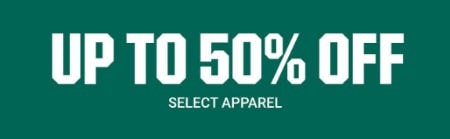 Up to 50% Off Select Apparel from Dick's Sporting Goods