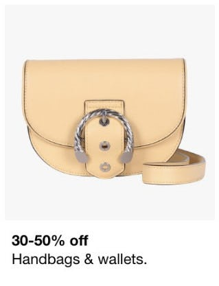 30-50% Off Handbags & Wallets from macy's