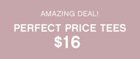 Perfect Price Tees at Only $16 from Catherines Plus Sizes