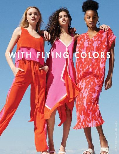 New In: Color-Blocked Essentials from Diane von Furstenberg