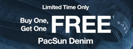 Buy One, Get One Free PacSun Denim from PacSun