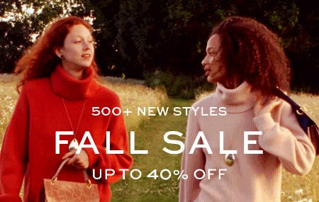 500+ New Styles: Up to 40% Off from Tory Burch