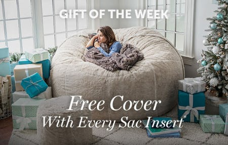 Free Cover with Every Sac Insert from Lovesac