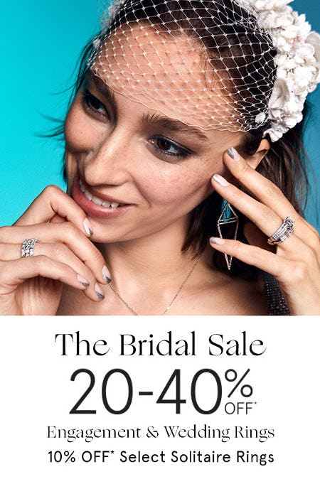 20-40% Off Engagement & Wedding Rings from Kay Jewelers