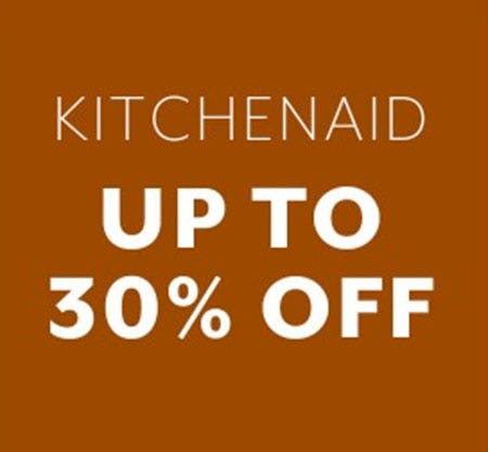 KitchenAid Up to 30% Off from Sur La Table