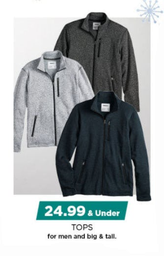 $24.99 & Under Tops for Men from Kohl's