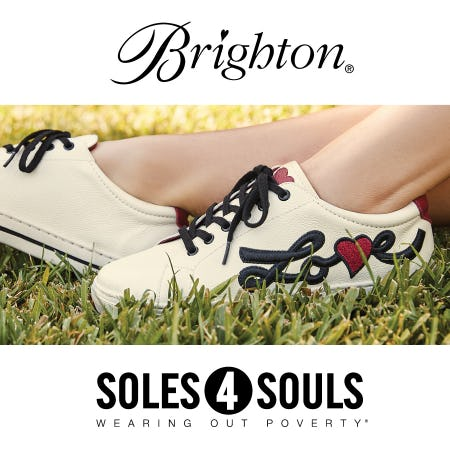 Give Shoes. Give Love. from Brighton Collectibles