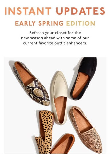 Instant Updates: Early Spring Edition from Madewell