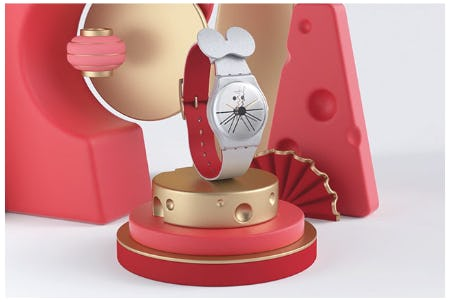 The Chinese New Year's Special: Cheese O'Clock from Swatch