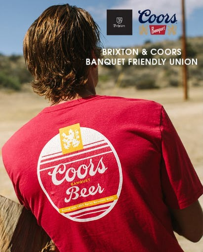 Brixton & Coors Banquet Special Collection from Tillys