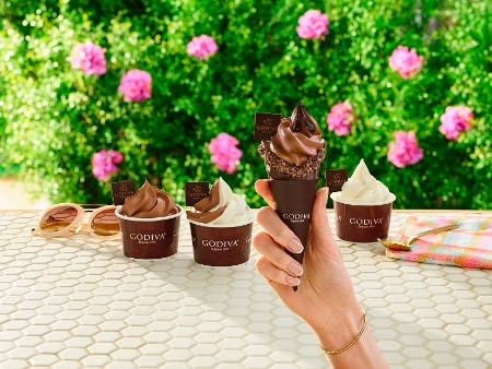 National Ice Cream Cone Day! from Godiva Chocolatier