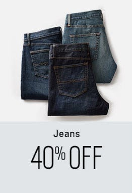 40% Off Jeans from Men's Wearhouse