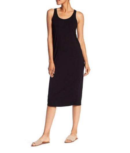 Joan Vass Midi Tank Dress