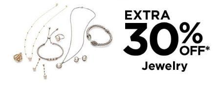 Extra 30% Off Jewelry from Lord & Taylor