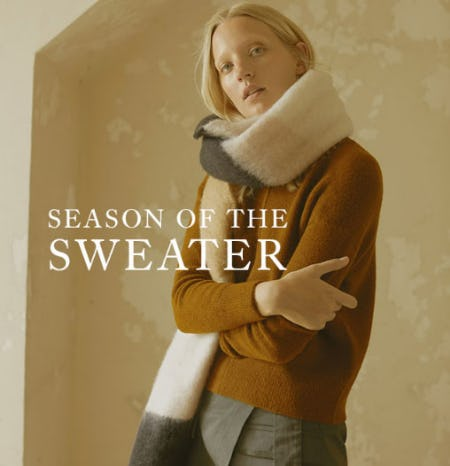Season of the Sweater from Banana Republic