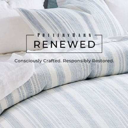 Introducing Pottery Barn Renewed from Pottery Barn