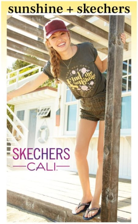 Skechers for Warmer Days Ahead from Rack Room Shoes