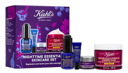 Nighttime Essentials Skincare Set from Kiehl's