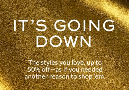 Up to 50% Off New Markdowns from Coach