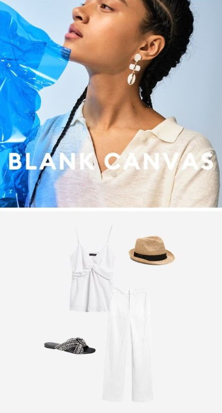 Break Out the Summer Whites from Banana Republic