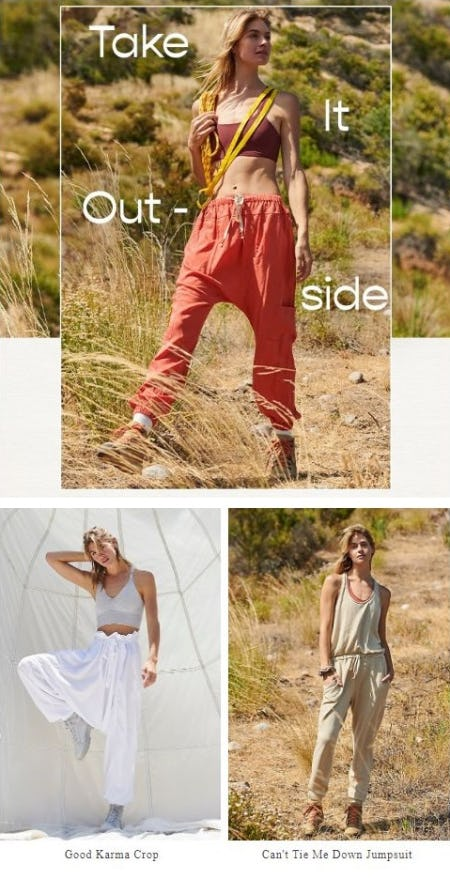 Adventure-Worthy Styles from Free People