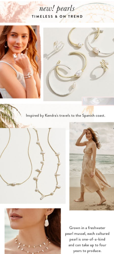 Our New Pearls from Kendra Scott