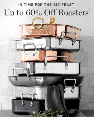 Up to 60% Off Roasters from Williams-Sonoma