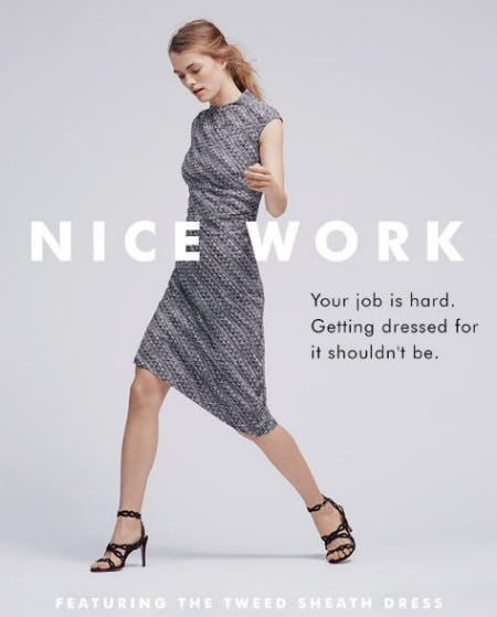 Shop This Dress from Banana Republic
