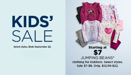 Starting at $7 Jumping Beans from Kohl's