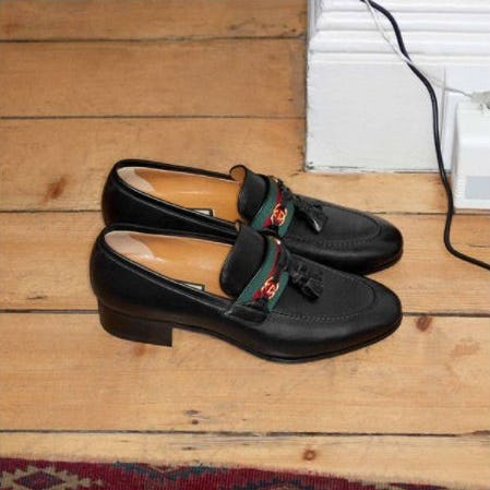 New in GG: Tasseled Loafer from Gucci