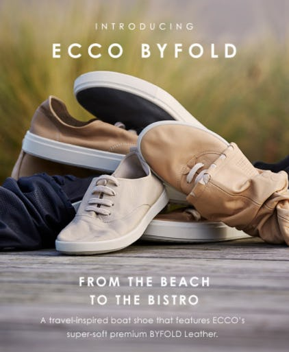 Meet the ECCO Byfold from ECCO