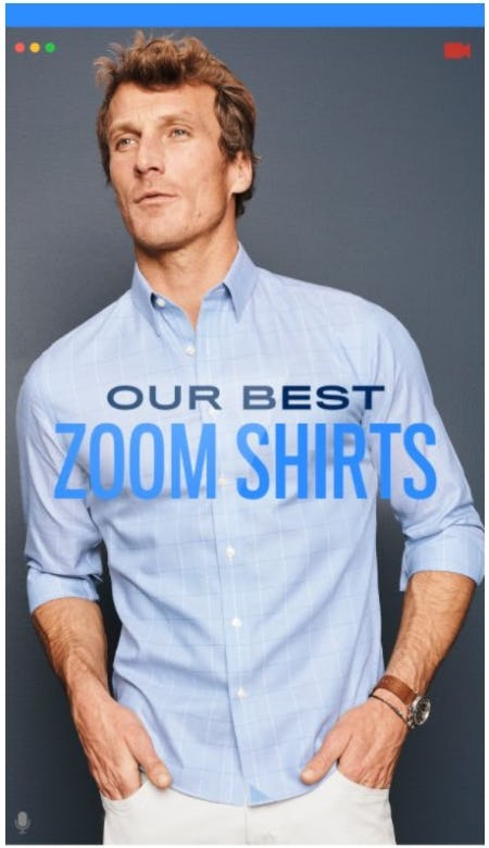 Our Best Zoom Shirts from UNTUCKit