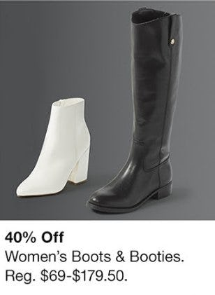 40% Off Women's Boots & Booties from Macy's