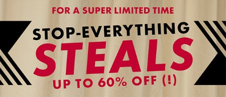 Stop-Everything Steals from DSW Shoes