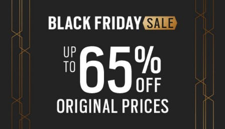 Black Friday Sale up to 65% Off from Men's Wearhouse and Tux