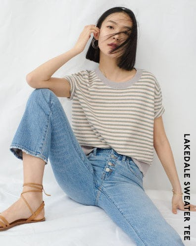 Lakedale Sweater Tee from Madewell