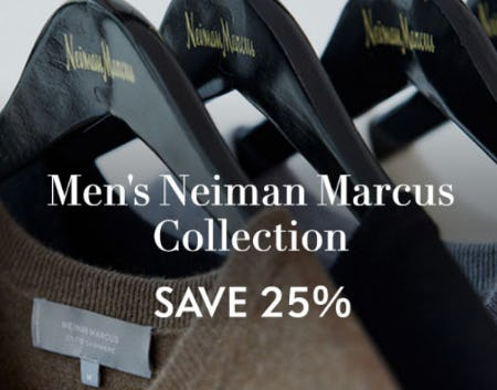 25% Off Men's Neiman Marcus Collection from Neiman Marcus