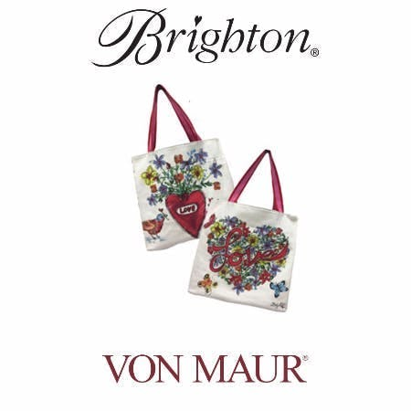 Brighton Love Tweet Tote