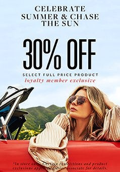 30% Off Select Full Price Product from Solstice Sunglass Boutique