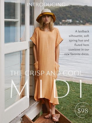 Introducing the Crisp and Cool MIDI from Free People