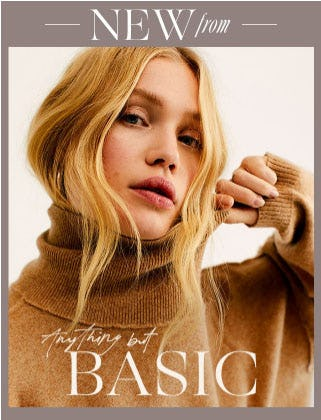 New from Anything But Basic from Free People