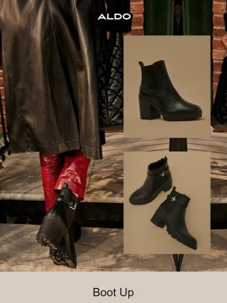 Level Up Your Boot Game from ALDO