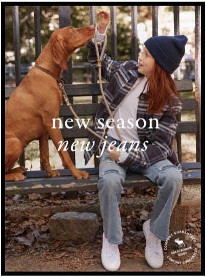 New Season, New Jeans from Abercrombie Kids