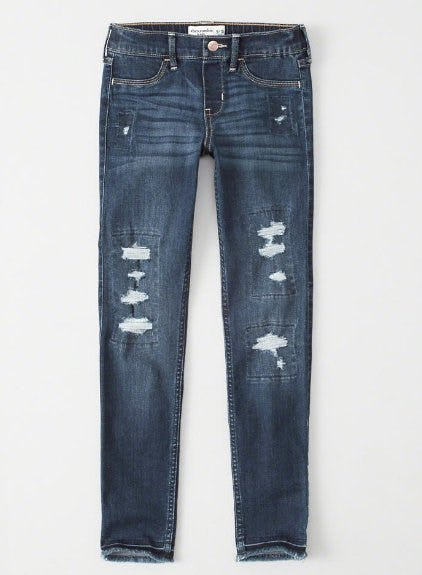 Ripped Pull-On Jean Legging from abercrombie