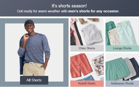 It's Shorts Season from Target