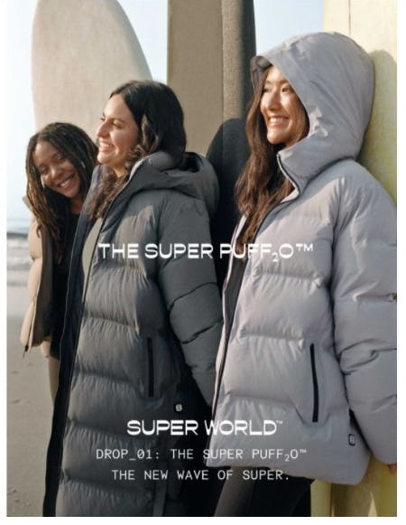 Just Dropped: The Super Puff₂O™ from Aritzia