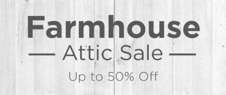 Up to 50% Off Farmhouse Attic Sale