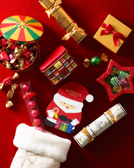 Holiday Sale at GODIVA! from Godiva Chocolatier